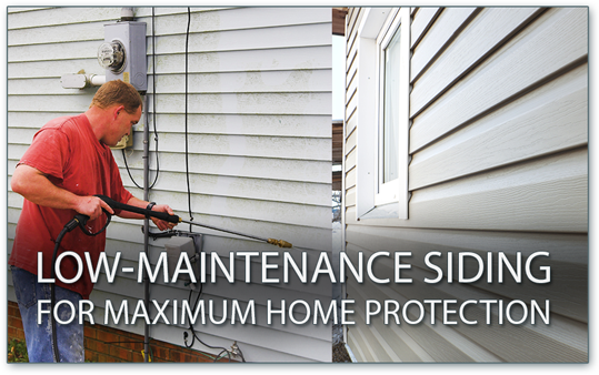 low-maintenance siding