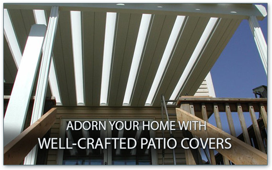 well-crafted patio covers